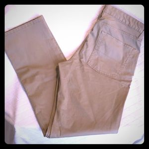 NWOT Chaps straight fit flat front kakis. New!